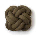 Design House Stockholm - Knot Cushion, brown