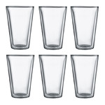 Bodum - Canteen Glass, double-walled, 0,4 l, transparent (Set of 6)