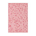 Normann Copenhagen - Illusion Tea Towels, pink