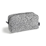 Hay - Dot Wash Bag, L, white
