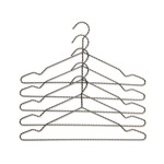 Hay - Twisted Hanger Set set of 5, anthracite