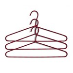 Hay - Cord Hangers set of 3 striped, burgundy