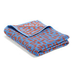 Hay - He She It, It Beach Towel, blue / cinnamon