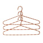 Hay - Cord Hangers set of 3 striped, powder