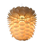 Schneid - Zappy Pendant Lamp Big Pine, ash / cable white