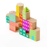 Areaware - Blockitecture, wooden architecture toy, Deco