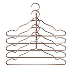 Nomess - Alu Hanger with notch (set of 5), bronze