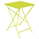 Fermob - Bistro Folding Table, 57 x 57, vervain