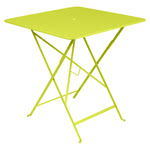 Fermob - Bistro Folding Table, 71 x 71, verbena