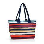 reisenthel - shopper e1, artist stripes