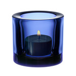 Iittala - Kivi tealight holder, ultramarine blue