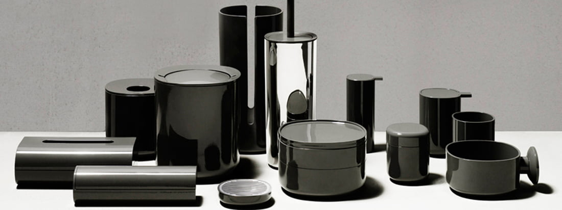 Alessi Birillo for the bathroom (dark grey)