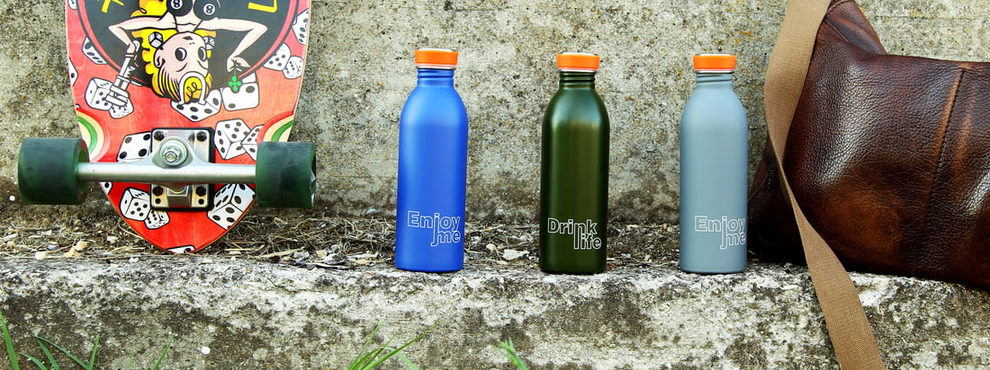 24Bottles is a manufacturer for sports bottles which are available in original colors. The bottles of the Italian manufacturer are ideal for the journey.