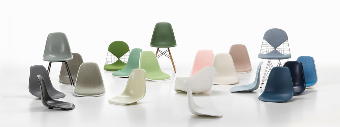 vitra eames plastic chairs collection banner