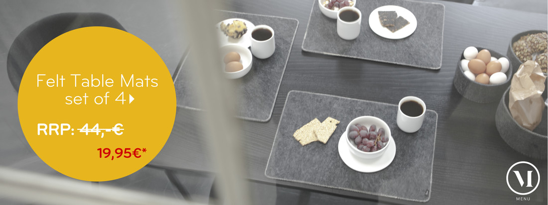 Menu - Felt Table Mats