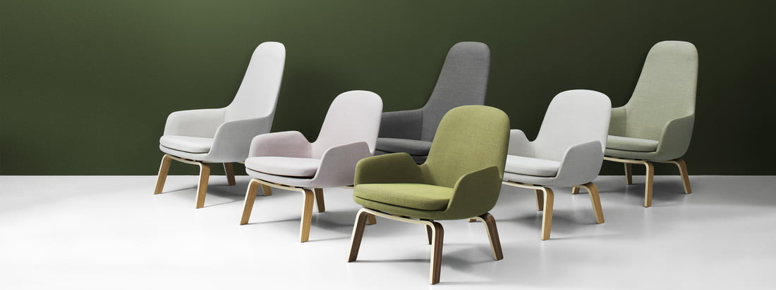 Classic, friendly, nostalgic and curvy. That's how the collection of high and low lounge chairs designed by Simon Legald for Normann Copenhagen might be described the best.
