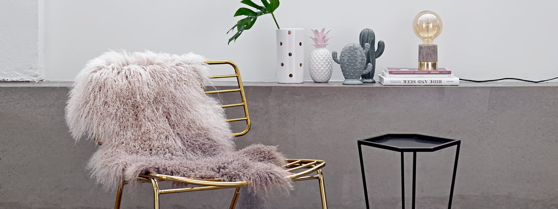 The Danish design brand Bloomingville produces exotic decoration objects like the Decorative Pineapple and the Porcelain Cactus. Available in the Connox shop.