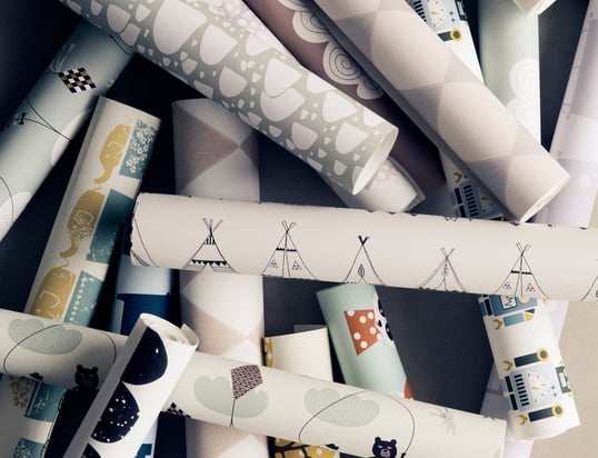 Here you'll find products you can wrap your presents with...