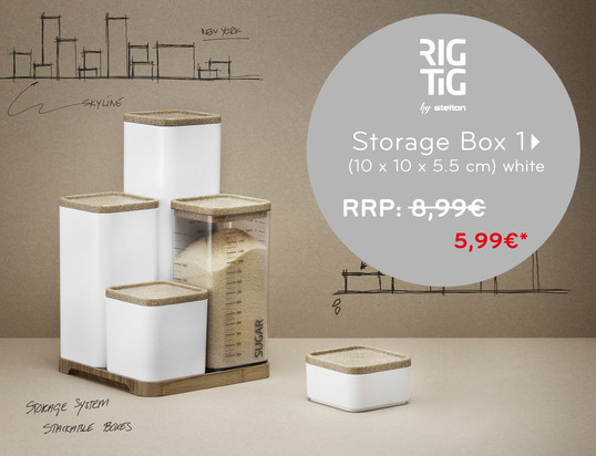 banner - Rig -Tig by Stelton - Storage Boxes, small