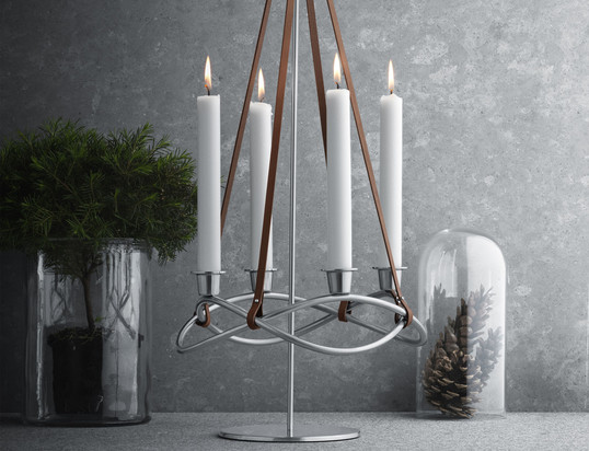 banner - advent candleholder