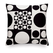Vitra - Cushion Maharam: Geometri black/white