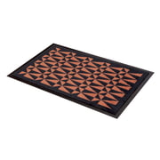 tica copenhagen - Foot Mat graphic black / copper