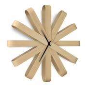 Umbra - Ribbonwood Wall Clock