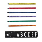 Design Letters AJ Colored Crayons Set