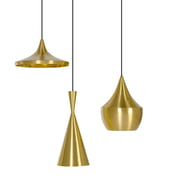 Tom Dixon - Beat Light Pendant Lamps (brass)