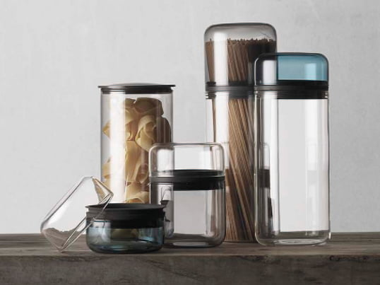 Juuri by menu is a storage collection which was designed by young German designer Sarah Böttger. The jars are heat-resistant and airtight.