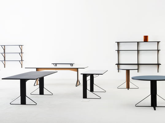 Kaari products - Tables, desks, shelves, wall consoles - available in the home design shop connox.com.