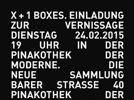 Exhibition AUERBERG BOXES -