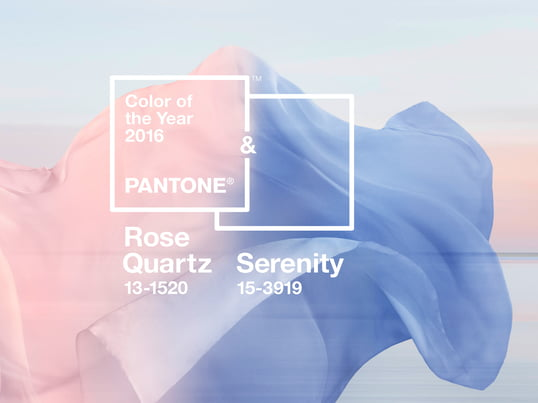 Pantone colour 2016 - Quartz Serenity