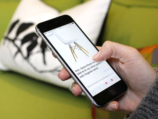 The world's best designs on your own smartphone: browse mobile in thousands of design products, order easily and safely via app. Furniture shopping was never so easy!