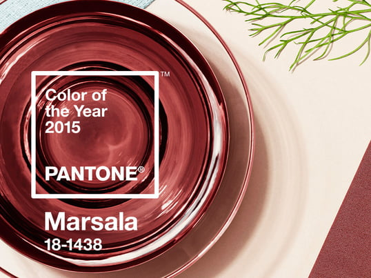 Marsala is the Pantone color of the year 2015