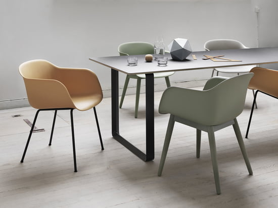 The Fiber Chair by Muuto - maximum comfort, minimum space requirements