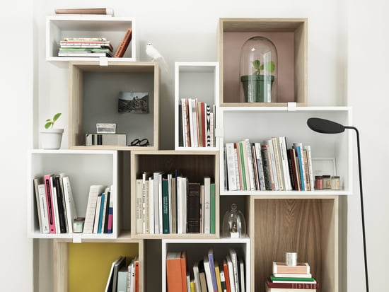 Individually combinable - The Muuto Stacked - Shelving - System