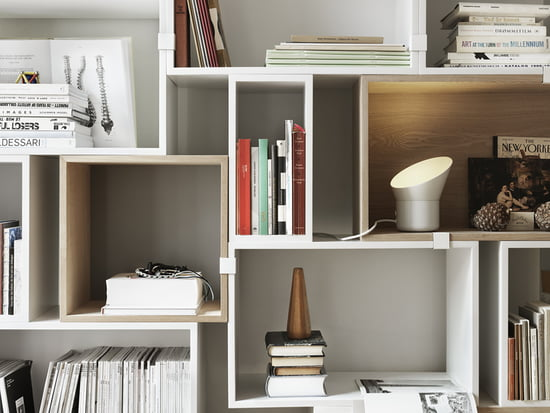 Room wonder: Storage solution Muuto Stacked shelving system