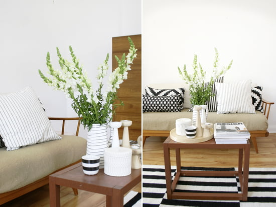 Decorated in black and white colours - refreshed!