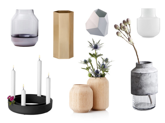 Design vases from the Connox shop