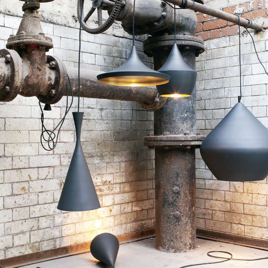 Classy lampshades made from brass