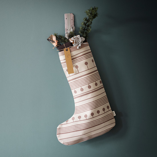 Winterland Christmas Stocking by ferm Living