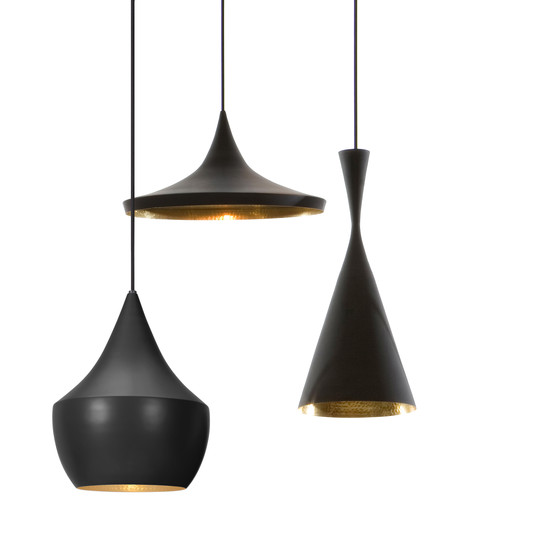 Beat Light Pendant Lamps Tom Dixon Shop : Tom Dixon Beat Light Pendelleuchten 3er Gruppe schwarz from www.connox.com size 550 x 550 jpeg 19kB
