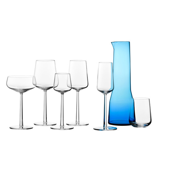 Iittala - essence jars with carafe