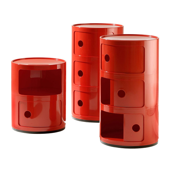 Kartell - Componibili - group red