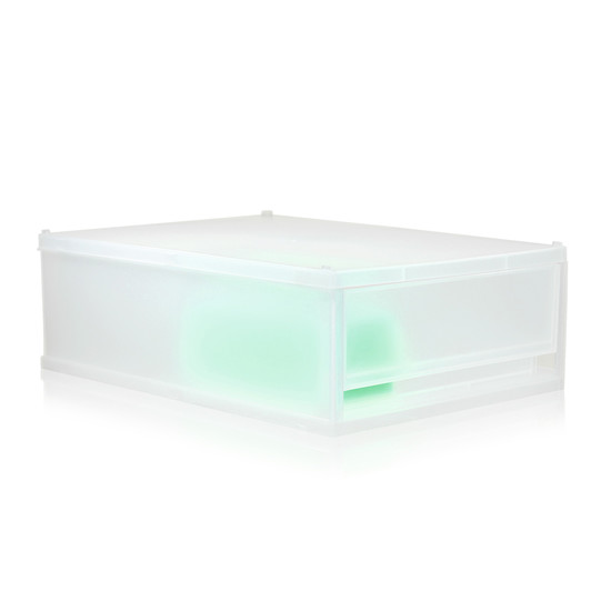 Nomess - Milky box A4, 1 box, transparent white
