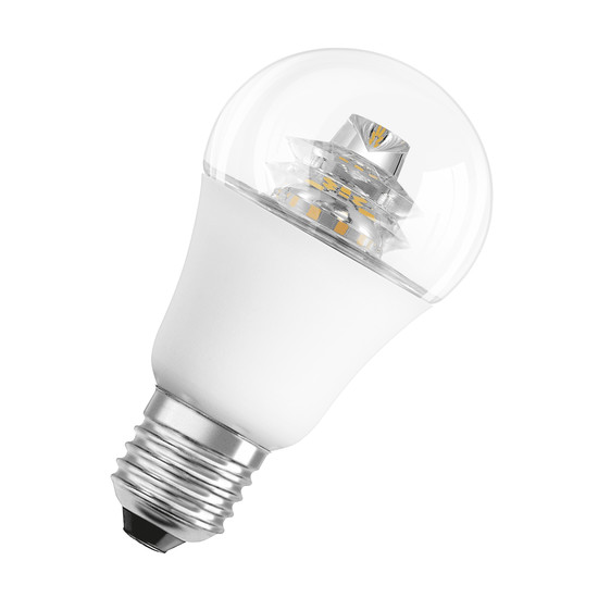 Osram - LED superstar classic A 60 advanced, E27, clear sparkling.