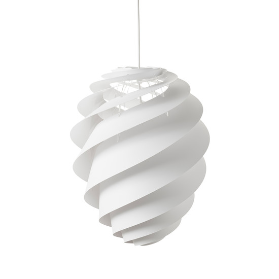 Swirl 2 Pendant Lamp Ø 36cm by Le Klint in White