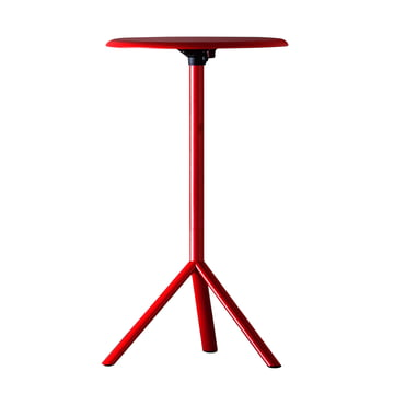 Plank - Miura Table, Höhe 109cm, traffic red