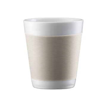 Bodum Canteen - Cup, double-walled 0.1l - cream-white